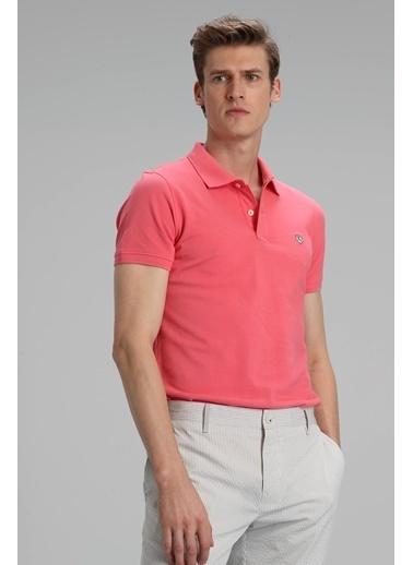 Lufian Laon Spor Polo T- Shirt  Pembe Pembe
